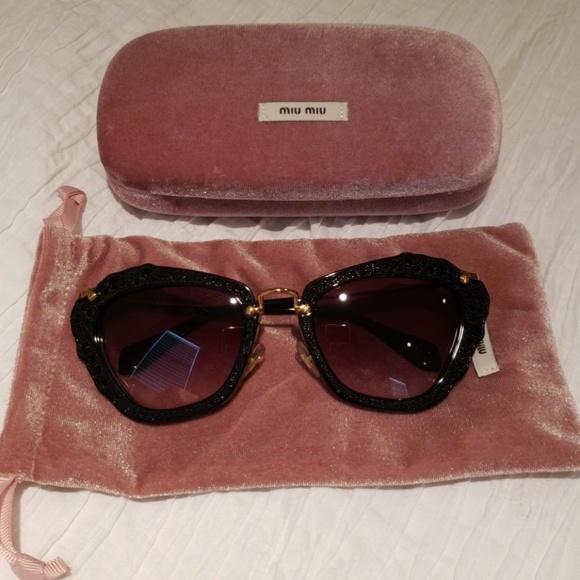 0ec27011a73 Authentic Miu Miu Sunglasses. M 5b6a1bde03087cb9705034d3. Other Accessories  ...